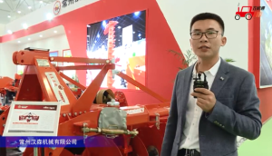 常州漢森漢美1LYQ系列驅動圓盤犁視頻詳解—2018國際農機展