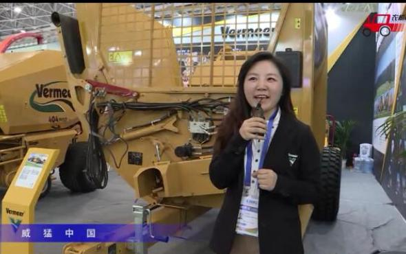 威猛BPX9000拆捆機/404Pro打捆機視頻詳解-2018國際農機展