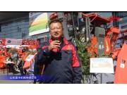 山東國豐4行玉米穗莖兼收機視頻詳解——2018國際農機展
