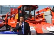 山東巨明4YZP-688玉米收割機視頻詳解—2018國際農機展