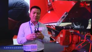 库恩FC 4060 TCR割草压扁机视频详解—2018国际农机展
