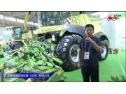 中垦瑞??坡弈酈iGX480青贮机视频详解-2018国际农机展