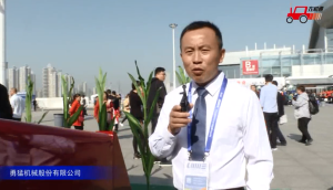 勇猛莖穗兼收型自走式玉米收獲機視頻詳解—2018國際農機展