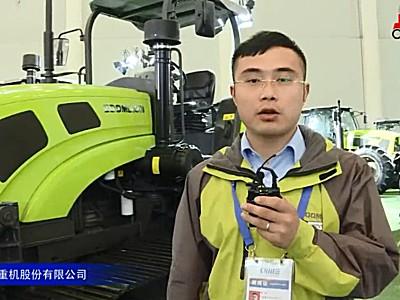 中聯耕王LA1402-A履帶拖拉機視頻詳解—2018國際農機展