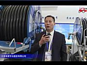 江苏华源JP110-500Y大型卷盘式喷灌机视频详解-2018国际农机展