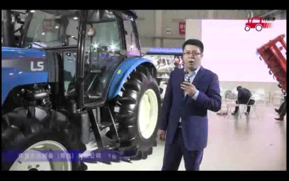 青島樂星拖拉機視頻詳解---2018國際農機展