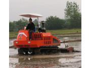 寶田1GZ-230型履帶自走式旋耕機作業視頻