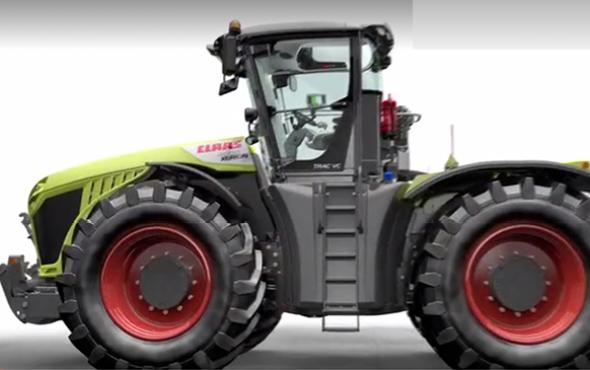 科乐收(CLAAS)XERION拖拉机与众不同的转向方式