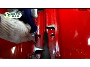 中农博远4YZ-4C型玉米收获机全车润滑油加注点展示