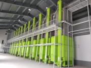 中聯重科66台超級烘幹中心夜以繼日保夏糧豐收