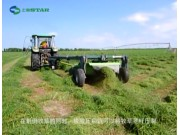 世达尔9GYQ-2.4型旋转式割草压扁机作业视频