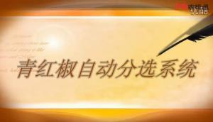 6CHXT-8型青红椒皮核分选系统