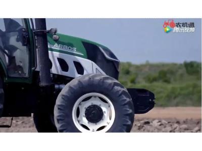 农机首发-雷沃阿波斯拖拉机英文宣传片3D展示动力系统