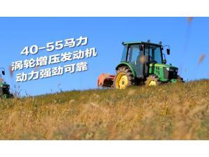 约翰迪尔3B系列40-55马力拖拉机产品视频