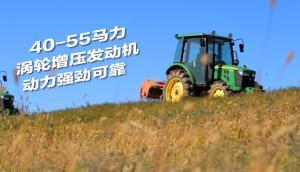 約翰迪爾3B系列40-60馬力拖拉機產品視頻