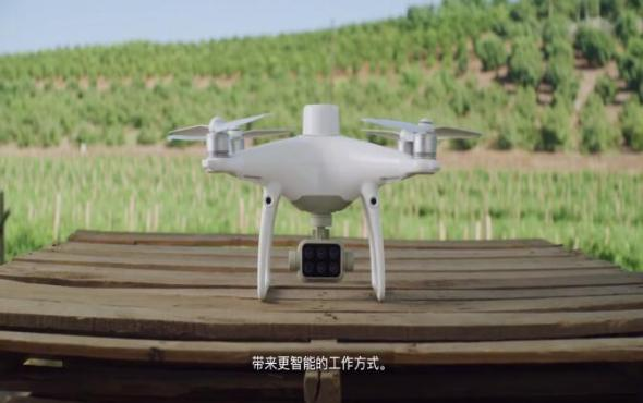 大疆精靈4多光譜版植保無人機產品介紹