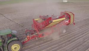 格立莫GRIMME马铃薯联合收获机SV260作业视频