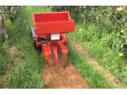 瑪斯特遙控履帶自走式施肥機作業視頻