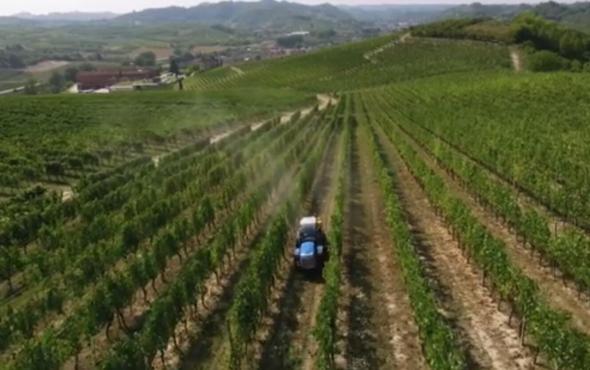 必圣士新款VOLCAN系列果园专用拖拉机作业视频