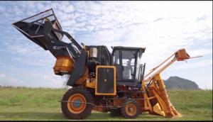 柳工S718切段式甘蔗收獲機現場演示視頻