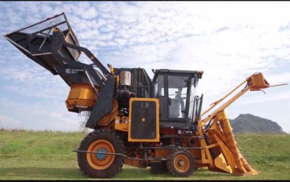 柳工S718切段式甘蔗ballbet苹果客户端现场演示视频
