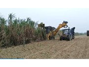 柳工S935T切段式甘蔗收获机现场演示视频