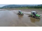 道依茨法爾水田專用果園專用拖拉機作業視頻