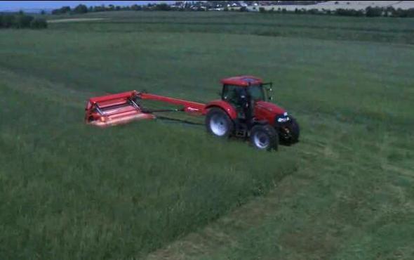 格蘭割草壓扁機產品視頻