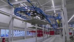 格兰集团德国索斯特工厂喷漆生产线