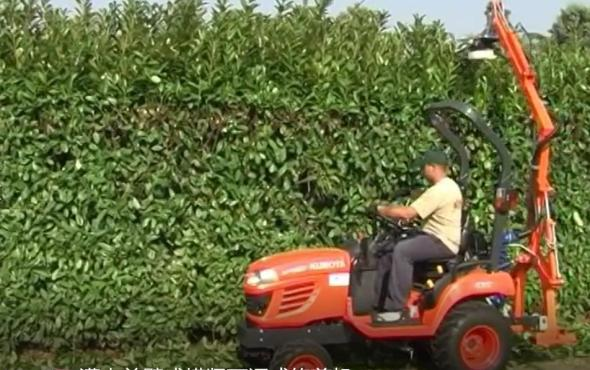 意大利RINIERI BRM120灌木单臂式横竖可调式修剪机