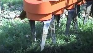 意大利RINIERI EP型行间棵间宽体动力耙除草机