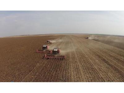 河北宗申戈梅利4LZ-8谷物收獲機油葵割臺收獲視頻