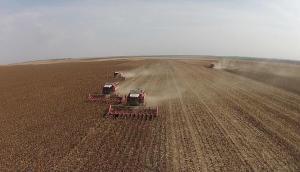 河北宗申戈梅利4LZ-8谷物收获机油葵割台收获视频