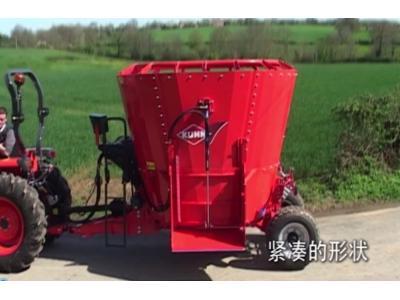 库恩PROFILE 系列牵引式饲料搅拌机作业视频