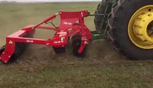 丹麥禾沃Grass-Tiller草地深松機沽源草地作業