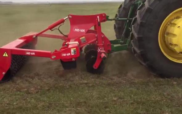 丹麦禾沃Grass-Tiller草地深松机沽源草地作业