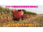 春明两行四驱型和三行履带式玉米收获机作业-作业视频