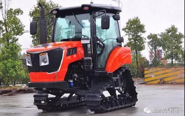 湖南农夫NF-902履带拖拉机-作业视频