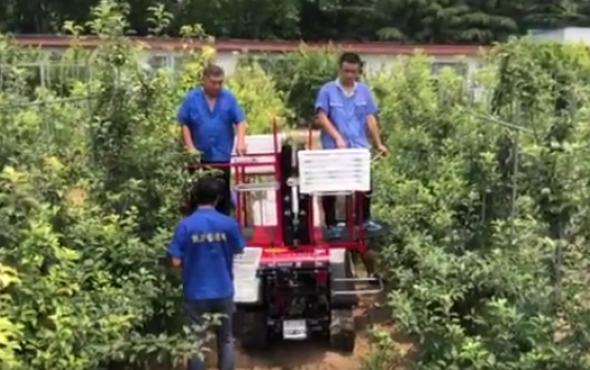 佐佐木牌4PZ-120型自走式果园采摘平台-作业视频