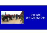 潍坊森海背负式果园割草机-作业视频