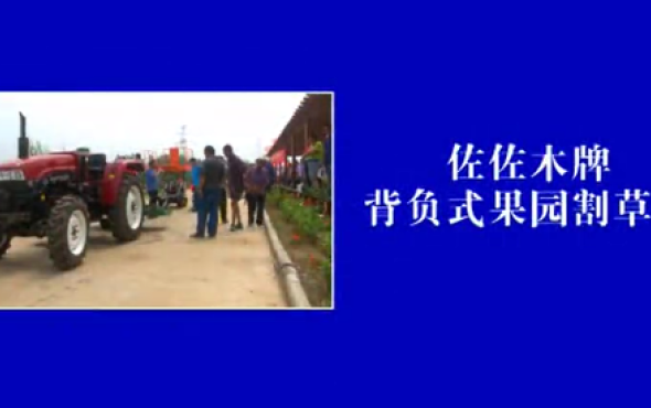 潍坊森海背负式果园ybke机-作业视频