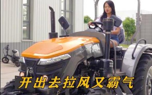 丰疆FJ1604拖拉机试驾视频