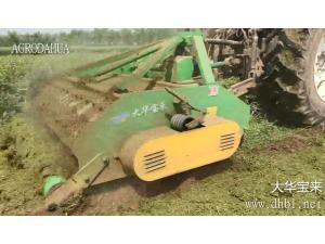 大華寶來1JH-180S雙軸秸稈粉碎還田機作業視頻