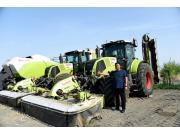 魏垂如—草业发展离不开先进的设备,CLAAS是我的优选