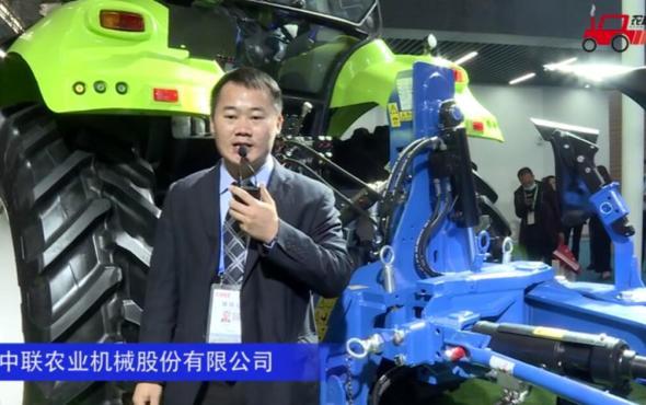 中联重科ALbatros110悬挂翻转犁--2020中国农机展