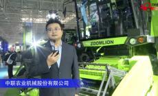 中联TE90谷物联合收割机视频详解