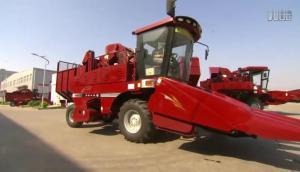 勇猛4YZ-4Q(N)型及4YZ-4H(S)型自走式玉米收獲機介紹