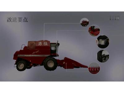 勇猛4LY-6(ZL2150)自走式玉米联合收割机产品介绍