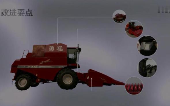 勇猛4LY-6(ZL2150)自走式玉米聯合收割機產品介紹