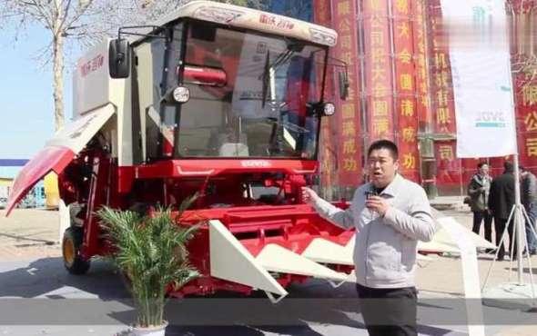 雷沃4YL-5M自走式玉米收獲機產品介紹